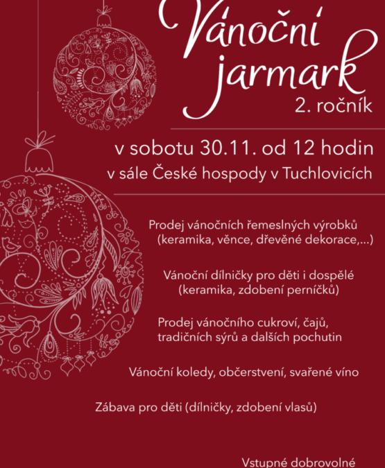 Vánoční jarmark v Tuchlovicích