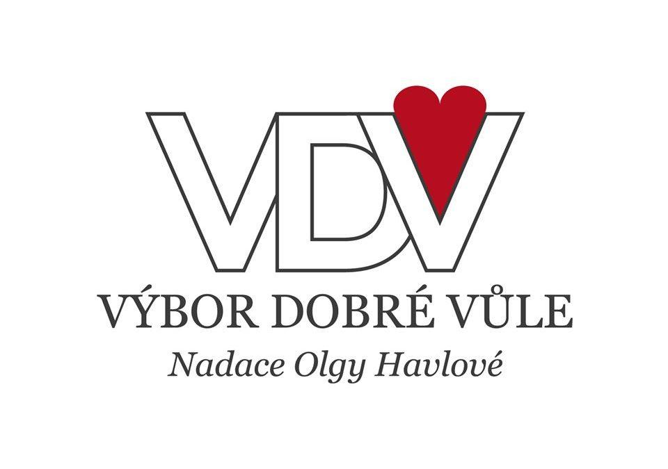 Poděkování Výboru dobré vůle-Nadace Olgy Havlové